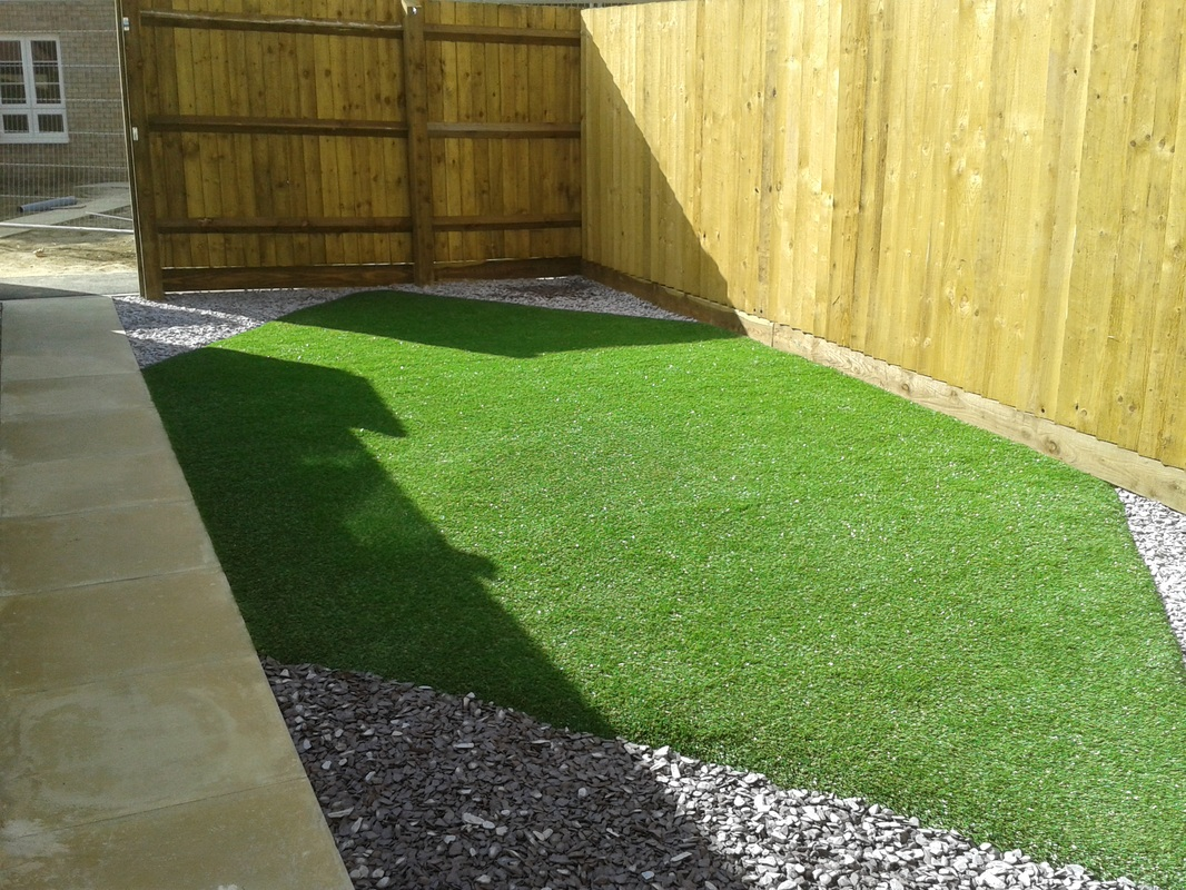 Malmesbury, maintenance free garden!  Create Landscaping Ltd
